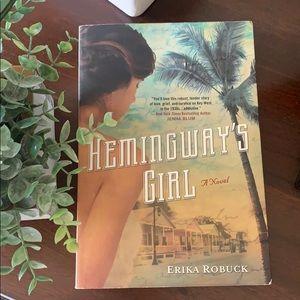 Hemingway's Girl by Erika Robuck paperback book ✨